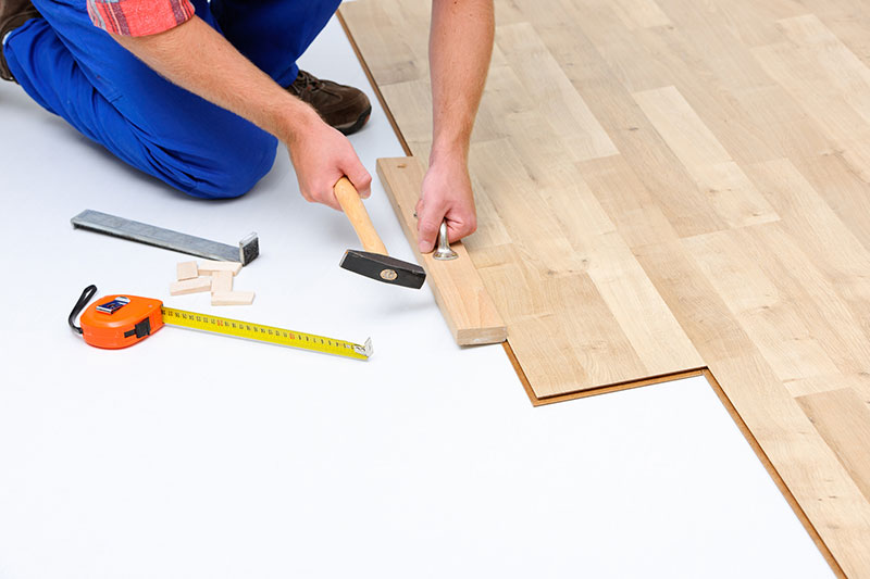 luxury vinyl flooring floating click locking installation
